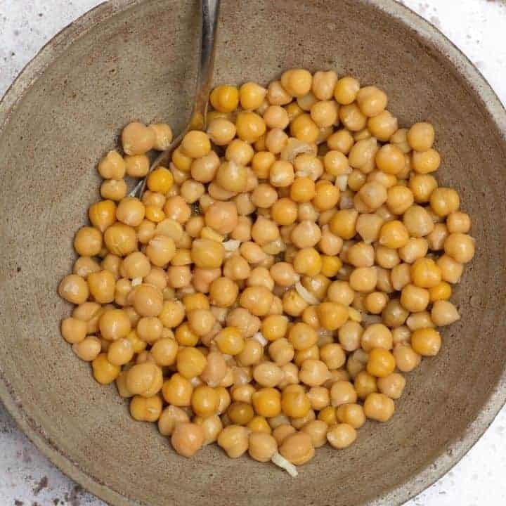chickpeas in fatteh