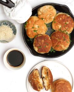 vegan dumpling (bao buns)