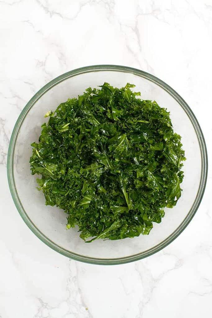kale in bowl