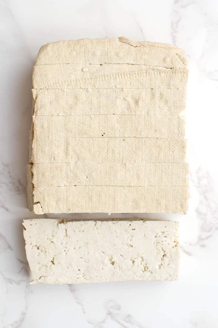 summer rolls tofu