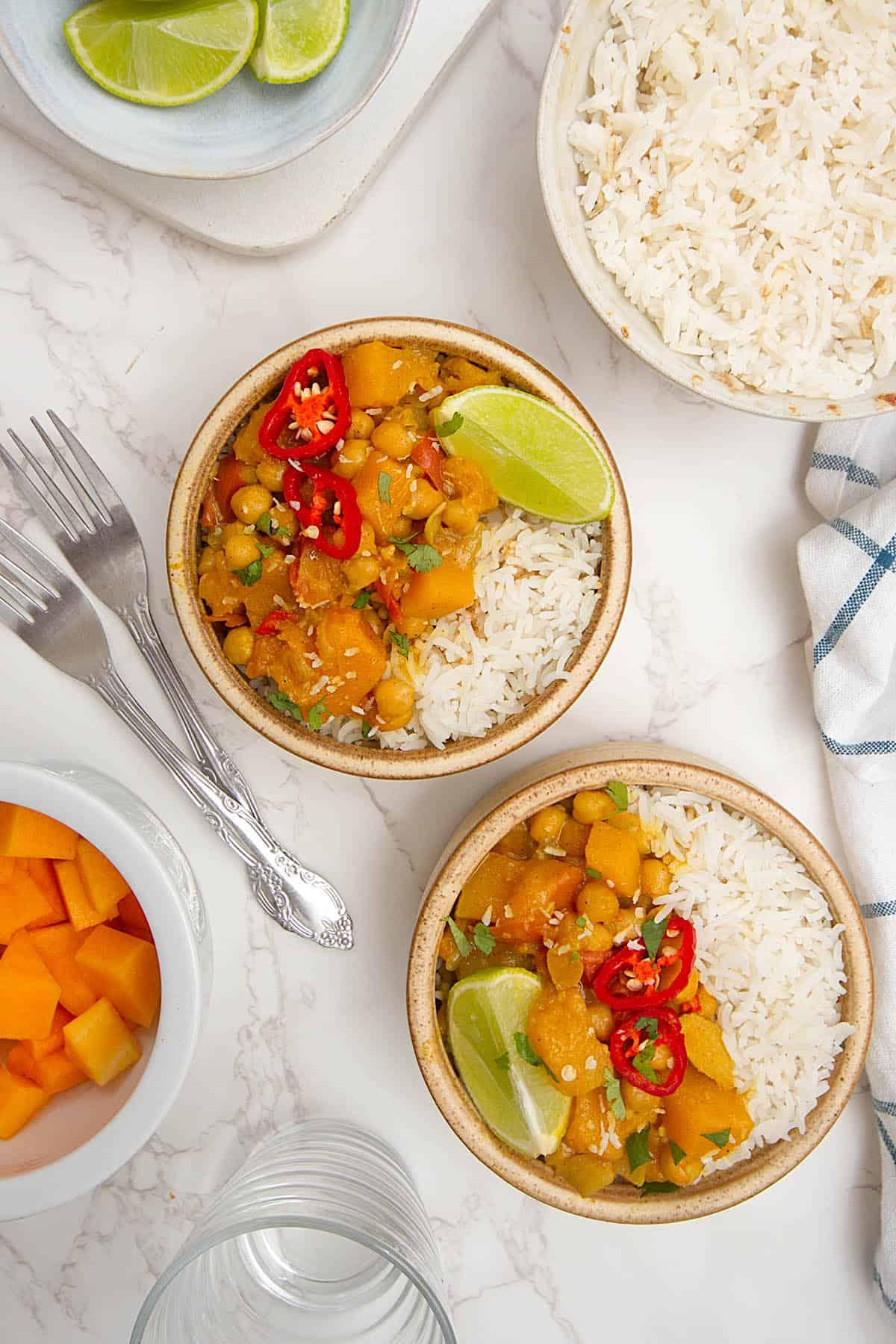 Indian pumpkin curry