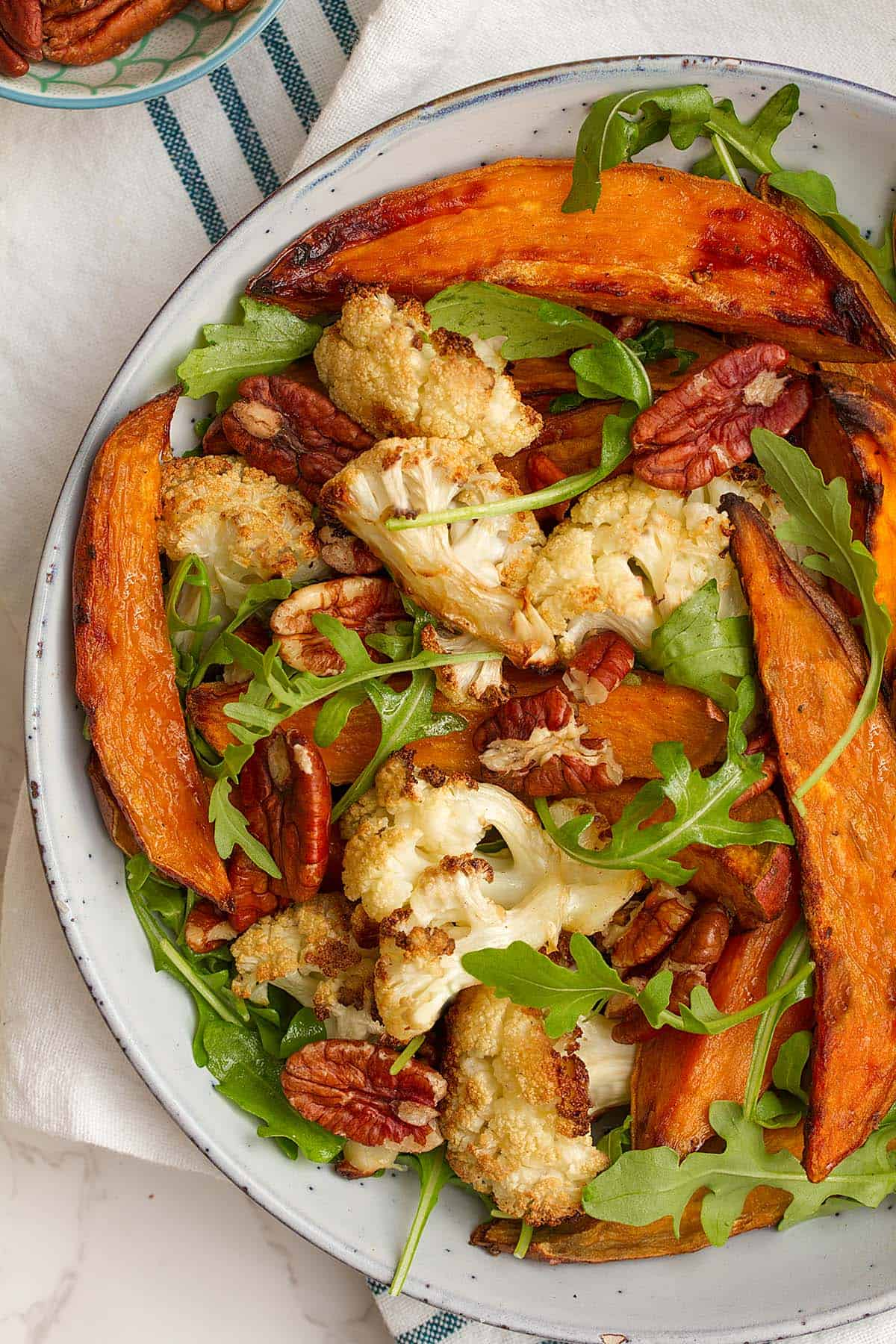 Sweet potato salad in bowl