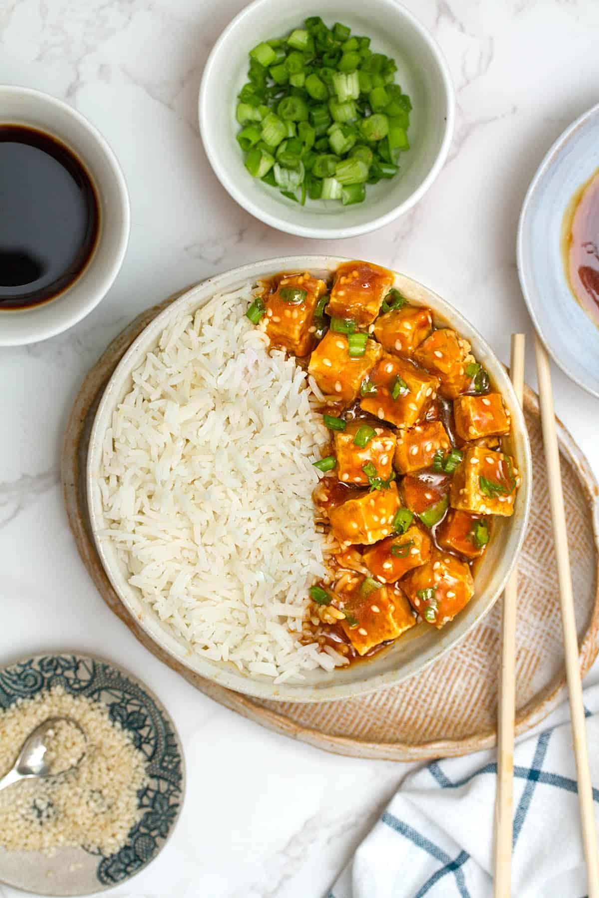 vegan orange chicken recipe