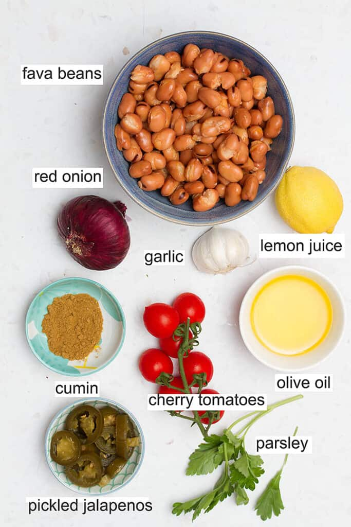 ful medames ingredients
