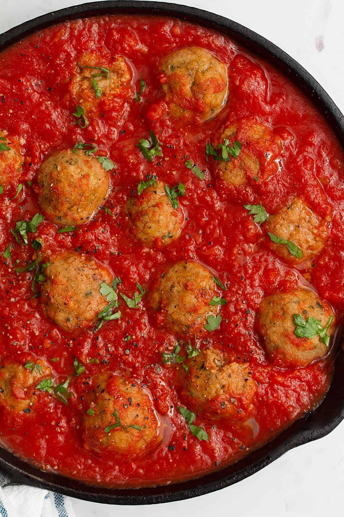 meatballs no eggs or milk