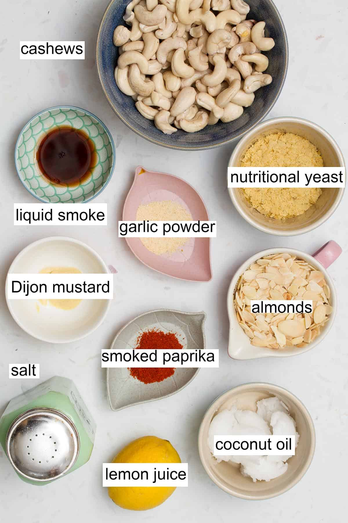 vegan cheese ball ingredients