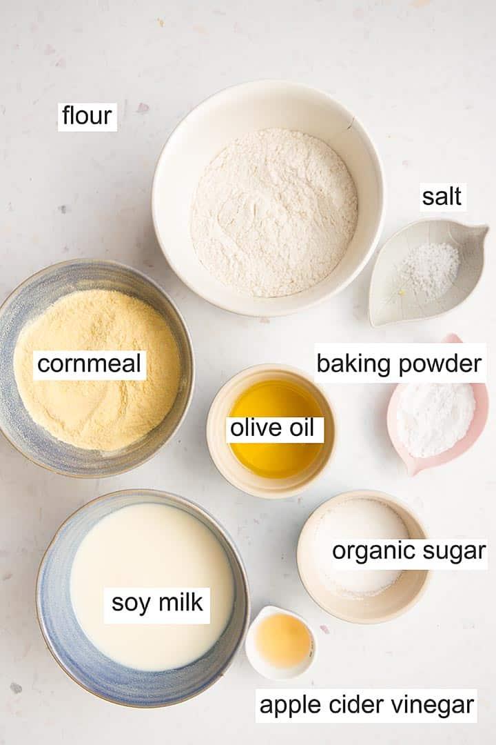 vegan cornbread no dairy ingredients