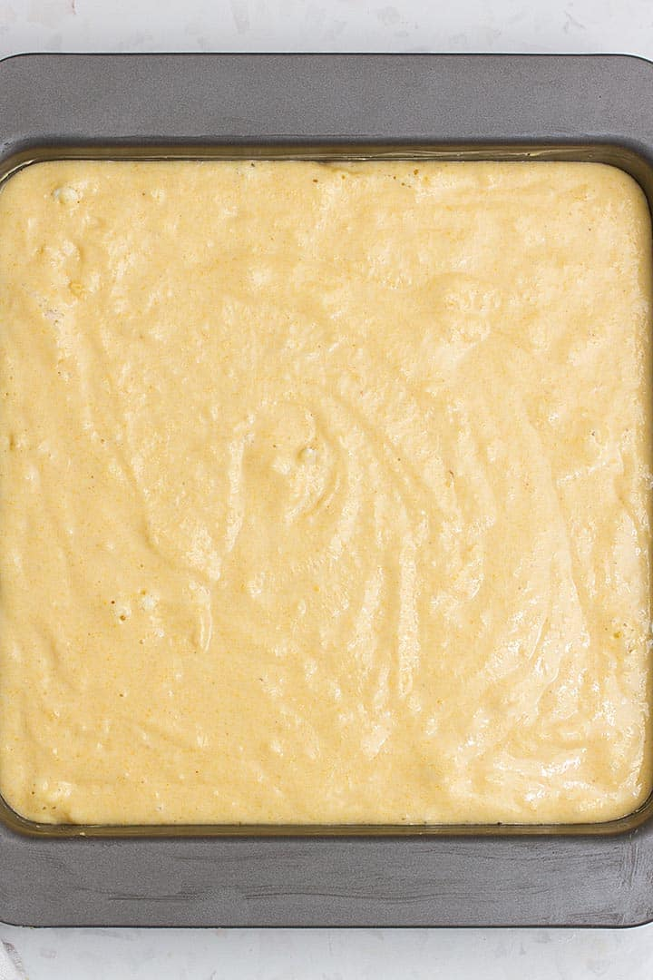 vegan cornbread batter