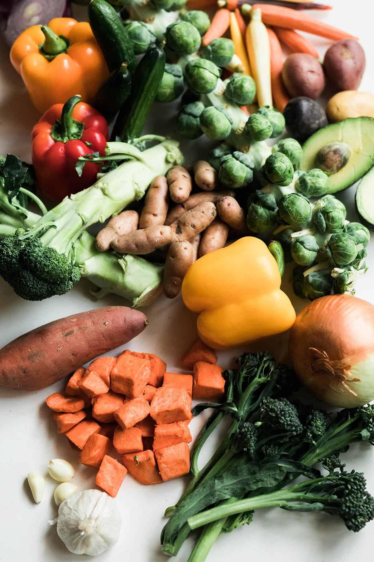 vegetables that vegans eat