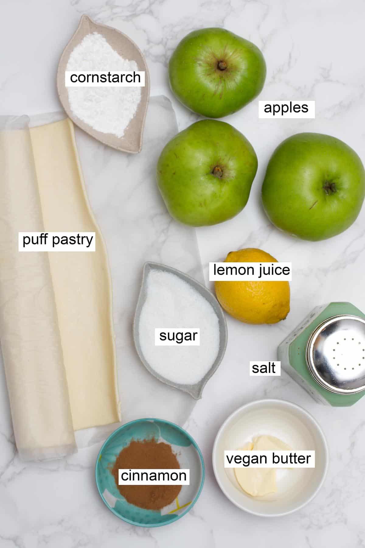 vegan apple turnover