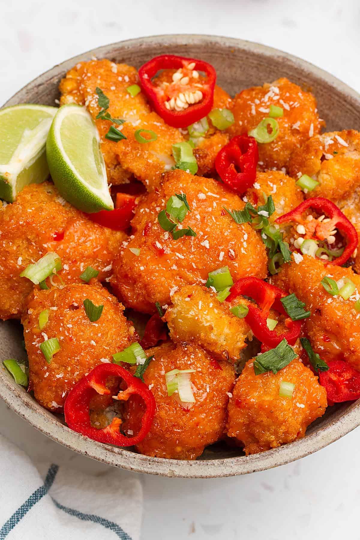 vegan bang bang cauliflower recipe