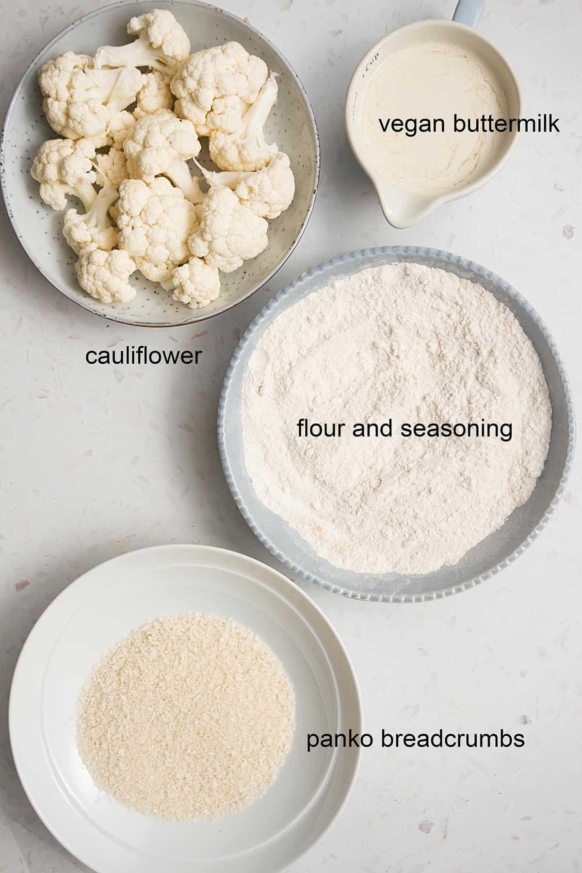 bang bang cauliflower ingredients