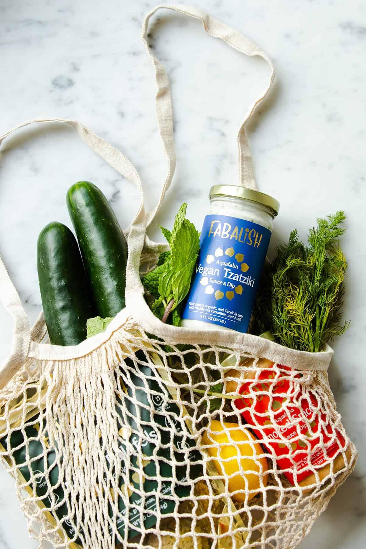 vegan grocery shopping