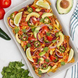 jackfruit nachos