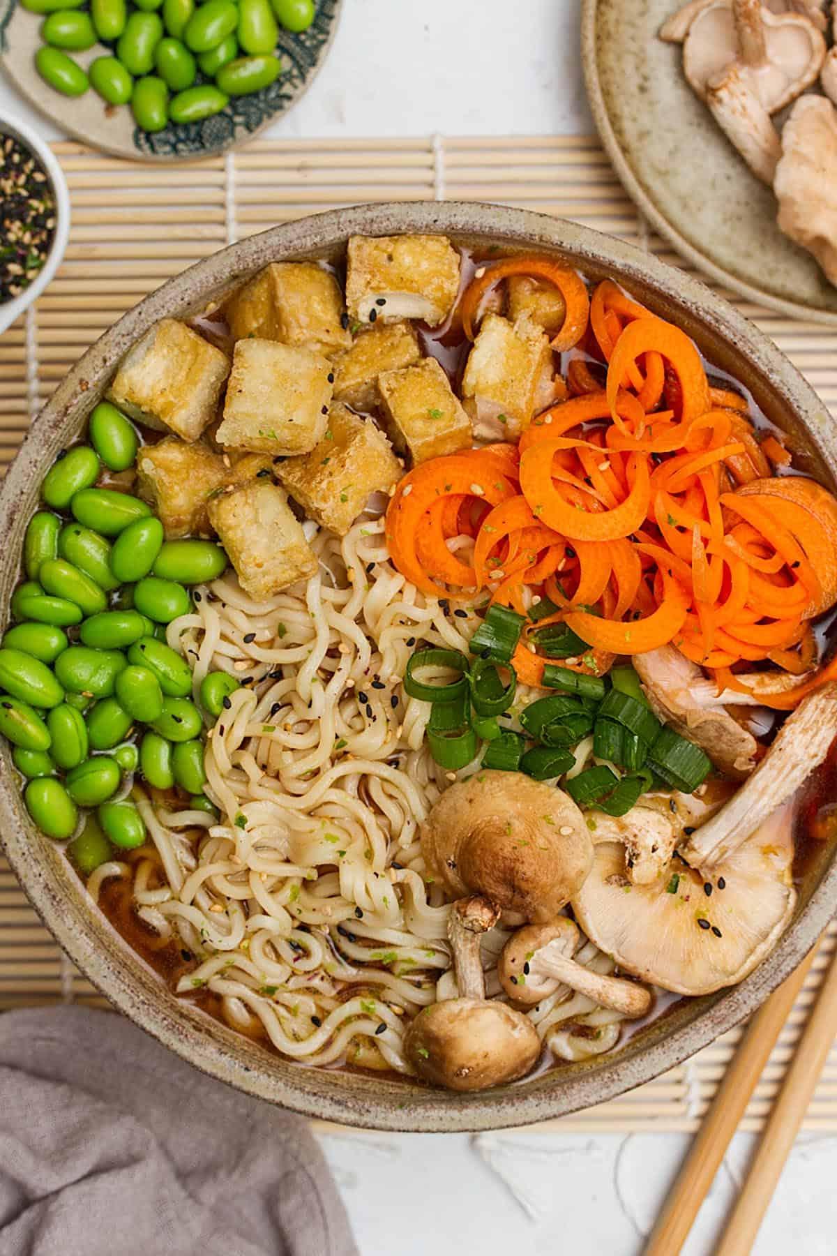 vegan miso ramen recipe
